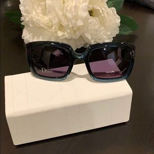 Dior Sunglasses Blue/Green NEW